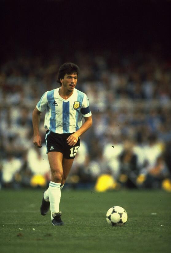 Defensa: Daniel Passarella (Argentina) - México 1986