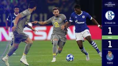 Porto rescata un punto en su debut de Champions ante el Schalke 04