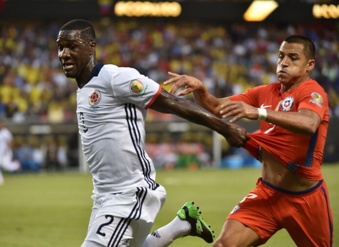 El ranking de los jugadores de Colombia vs Chile GettyImages-542229468.jpg