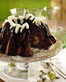 ROSCA BICOLOR - Una rosca de queso crema y chocolate jamás supo t...