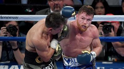 Empate histórico de 'Canelo' y Golovkin en espectacular pelea en Las Veg...