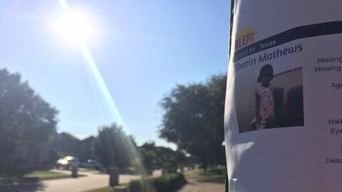 Volantes, algunos ya rotos, piden ayuda para ubicar a Sherin Mathews, de...
