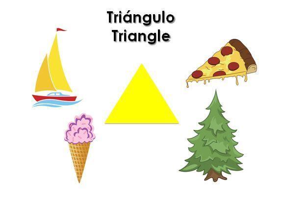 Pídele a tu pequeño que busque cosas en forma de triángulo alrededor de...