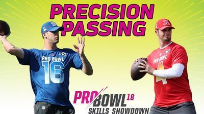 ¿Quién crees que gane el reto de precisión de QBs: Jared Goff o Derek Carr?