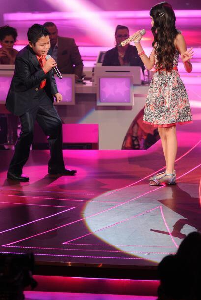 La pareja  tiene muchísimo talento y magníficas voces.