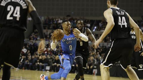 Thunder vs. Nets