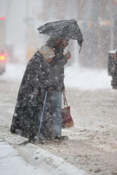 El Servicio Meteorológico Nacional espera que en la ciudad caigan...