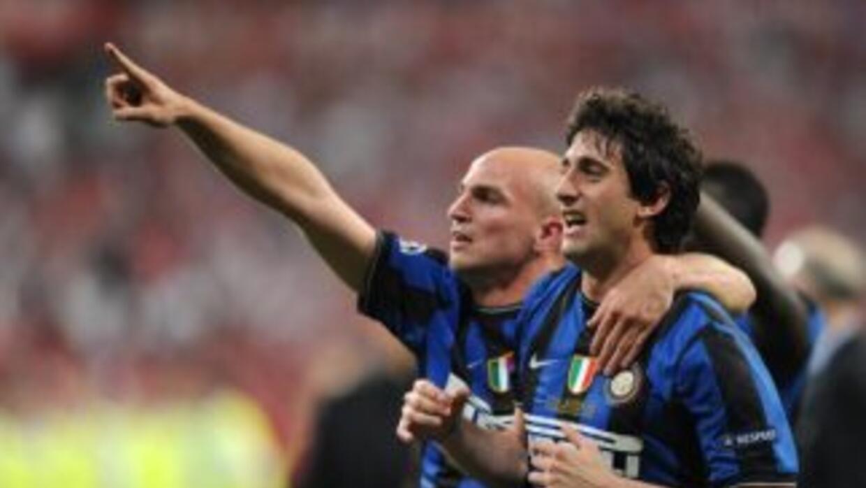 Terminó el contrato de Cambiasso, Milito y Samuel con el Inter.
