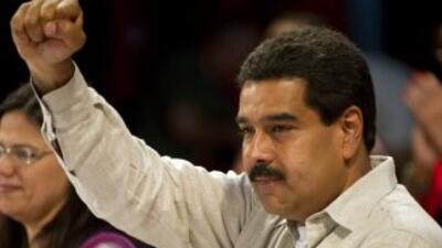 """Según Maduro, sectores de la oposición tienen """"una campaña nacional e in..."""