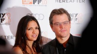 La tercera hija de Matt Damon y Luciana se llamará Stella Zavala Damon.