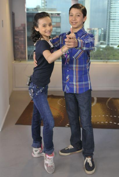 Gretchen y Max, pareja de baile del escuadrón de Megaestrellas, v...