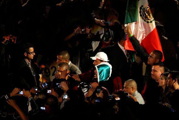 El mexicano llegó al combate con la esperanza de limpiar su nombr...