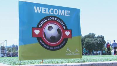 Organización Caridades Católicas celebra a la comunidad inmigrante con un torneo de fútbol
