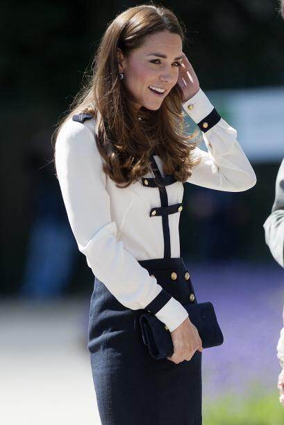 Varios medios ingleses aseguraron que Kate tuvo que hacer varios cambios...