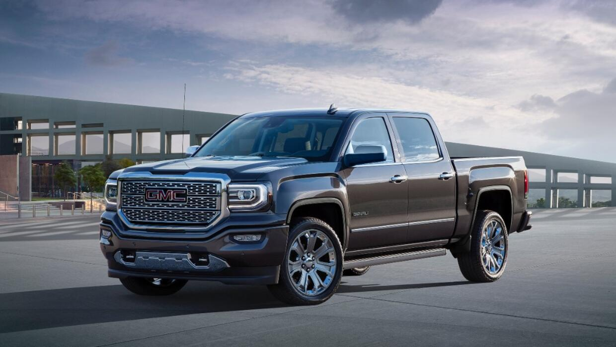 GMC Sierra Denali Ultimate 2016