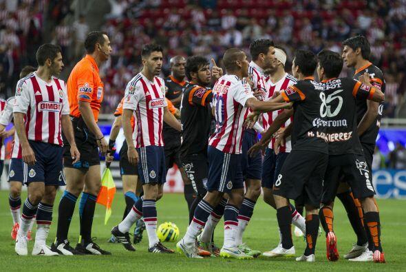 Guadalajara, en la fecha cuatro, se impuso a Pachuca (1-0), pero cayó en...