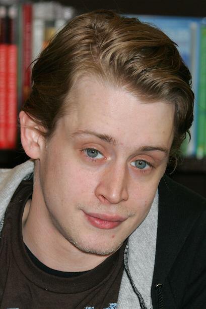 15- Macaulay Culkin.  El chico que se robó los corazones en el año 2004...