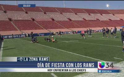Histórico segundo partido de pretemporada de los Rams
