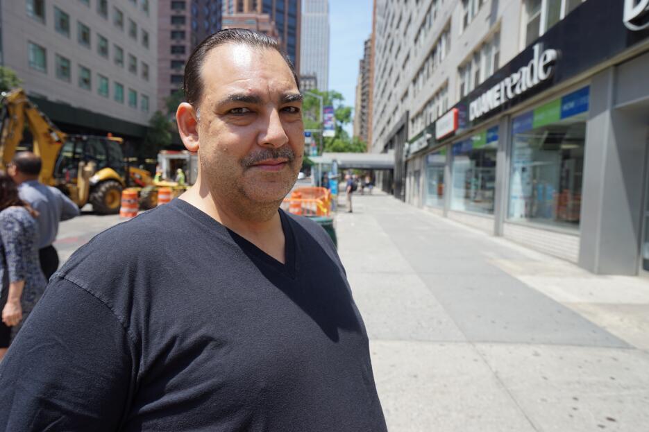 """Jorge Radillo: """"Yo me cuido pero es muy importante no generar pánico""""."""