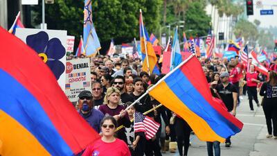 Conmemoran en Los Ángeles el aniversario número 103 del genocidio armenio