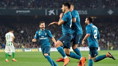 En fotos: Real Madrid golea al Betis en un juego en el que se perdieron las defensas