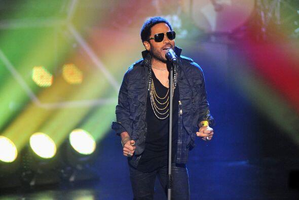 Como parte del 'pregame' estará presente en el show Lenny Kravitz.