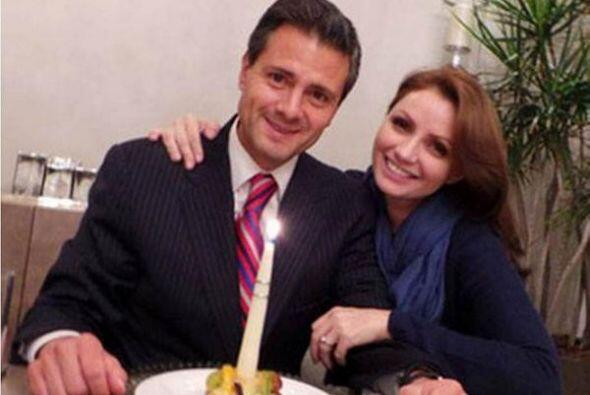 Peña Nieto disfrutó de la compañía de la actriz y de sus hijas de sangre...