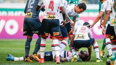 Lucas Pratto anuncia que se encuentra bien tras el terrible golpe en la cabeza