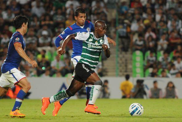 Darwin Quintero: El colombiano ha ayudado a su equipo a generar jugadas...