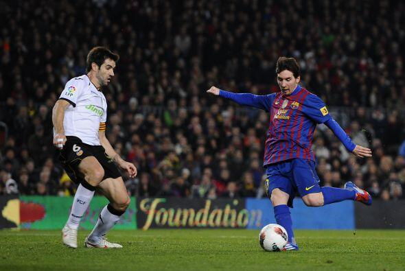 Comenzamos con el mejor jugador del mundo. Lionel Messi ya es el máximo...