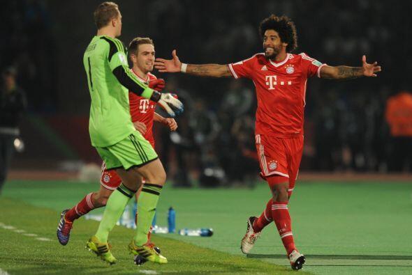 Bayern Munich estuvo cerca en varias ocasiones de hacer el 3-0. En el 34...