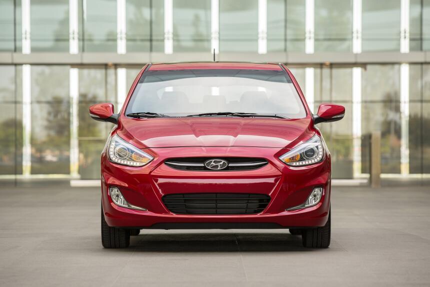 Puesto 7 – Hyundai Accent: Otra marca coreana participa de este ranking,...
