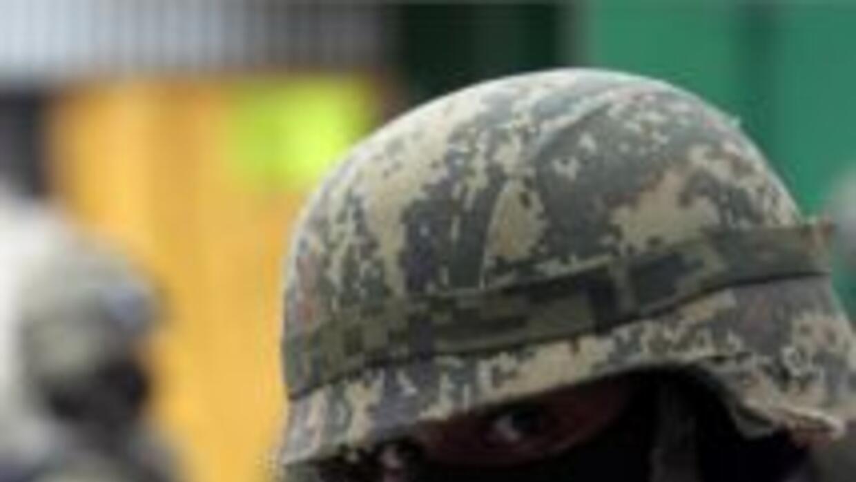Militares mexicanos desmantelaron tres laboratorios clandestinos que ser...