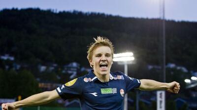 El juvenil noruego decidió fichar con el Real Madrid tras analizar varia...