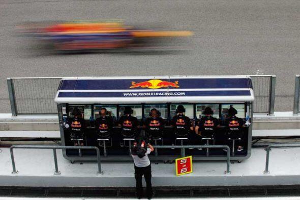 El equipo de soporte durante la carrera no pedió detalle alguno.