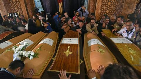 Egipto declara estado de emergencia tras atentado en dos iglesias