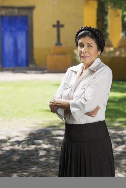 """""""Rosa"""" (Raquel Olmedo) es la cocinera de """"La Benavente"""".  Es la confiden..."""