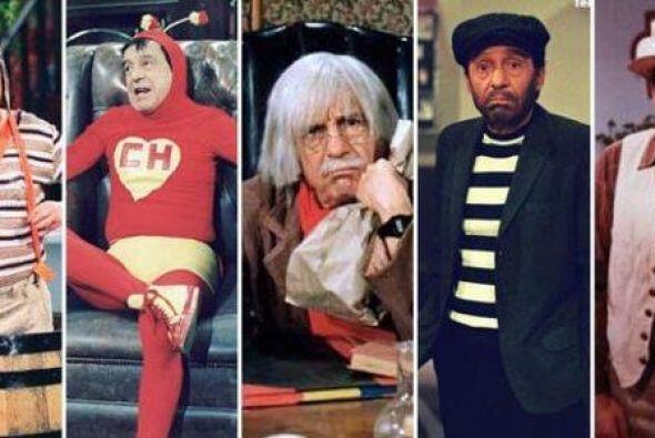 Chespirito marcó a chicos y grandes con su humor blanco. ¿Recuerdas las...