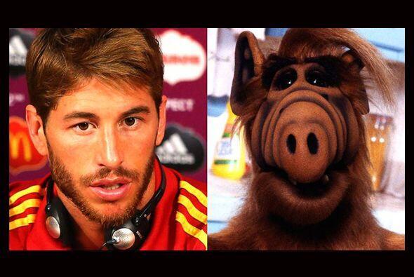 A Sergio Ramos le gusta llamar la atención y qué mejor que hacerlo disfr...