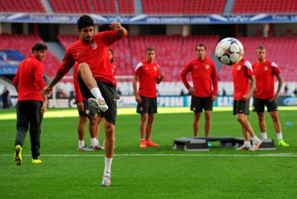 Diego Costa podría ser la sorprese si sale a jugar.