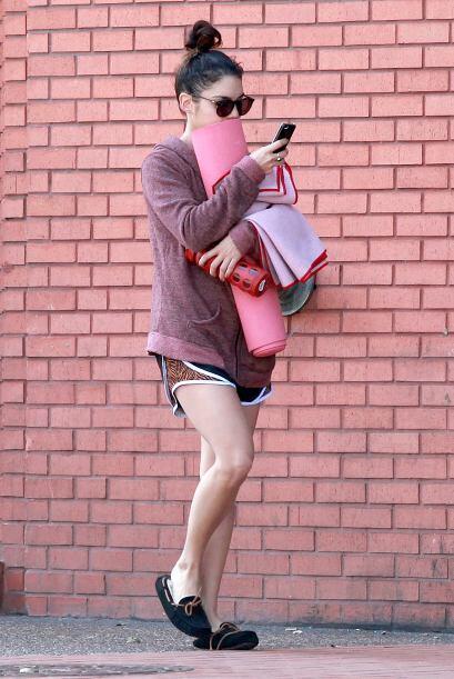 Una vez más la ex estrella de Disney fue captada en la ciudad de Los Áng...
