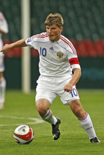 Otro de los conocidos es Andréi Arshavin, jugador que milita en el fútbo...