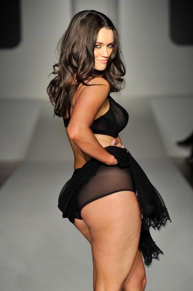 Las modelos 'plus size' llegaron para demostrar que una mujer no es meno...