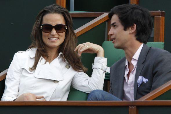 La hermana de la princesa de Inglaterra, Kate Middleton, Pippa.