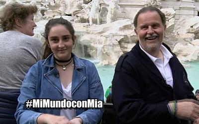 Mi Mundo con Mia episodio 3, Raúl y Mia causaron caos en la Fontana di T...