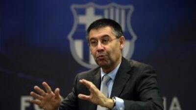 Josep María Bartomeu, presidente del Barcelona.