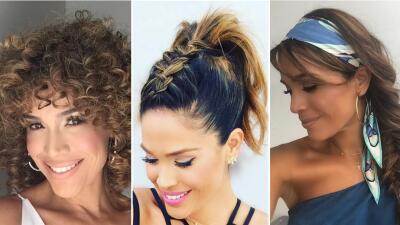 Atrévete a experimentar con tu cabello, inspírate en los looks de Karla Martínez