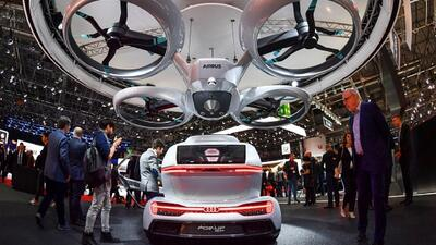 Los autos voladores y el transporte inteligente, entre las novedades del Salón del Automóvil de Ginebra