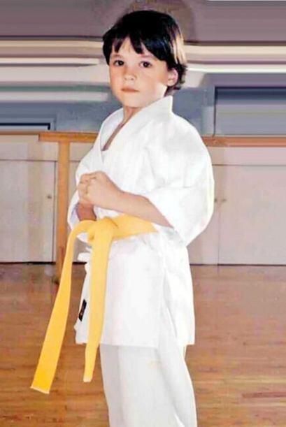 Antes daba golpes de karate y después se atrevió a soñar y dio golpes al...