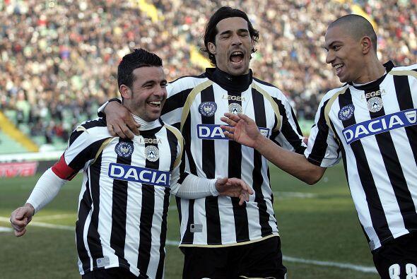 El cuadro de Udine sufrió pero al final sacó los tres puntos gracias a u...